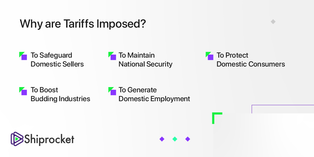 what is a tariff's purpose?