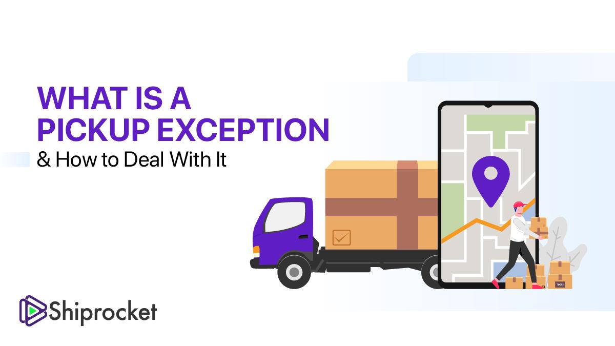 Pickup exception, no pickup