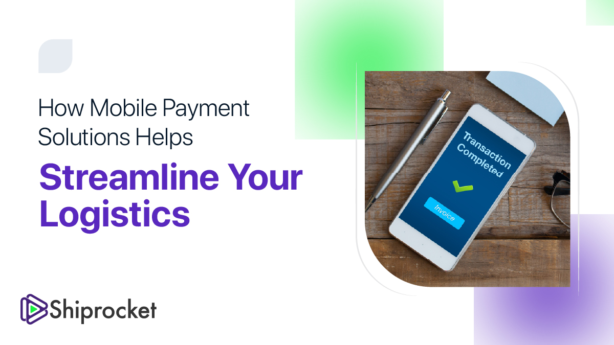 mobile payment solution for logistics providers